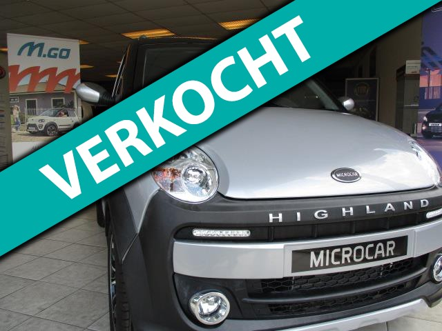 Microcar-Brommobiel M.GO Dynamic DCI DUAL COLOR, EASY PARKING LIGIER MICROCAR